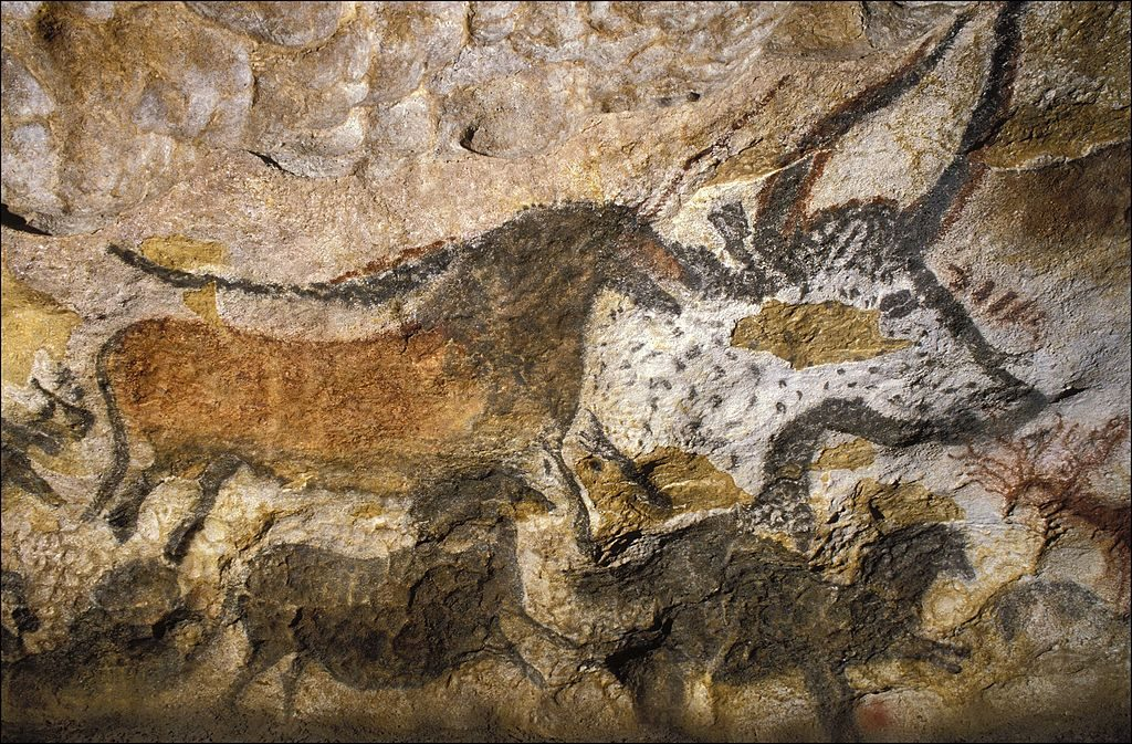 The 50 years of the cave Lascaux in Montignac, France in June, 1990. Photo: Jerome CHATIChatin/Gamma-Rapho via Getty Images.