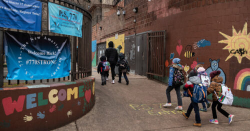 N.Y.C. Students To Be Able to Opt Into In-Person Learning in Public Schools, Mayor Says