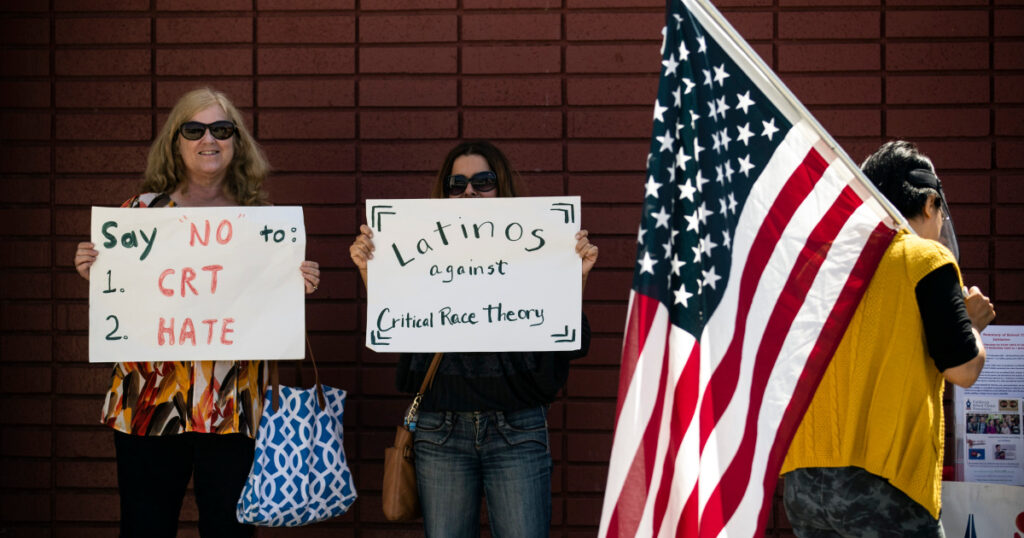 'Critical race theory' becomes a flashpoint in US public schools   Race Issues News