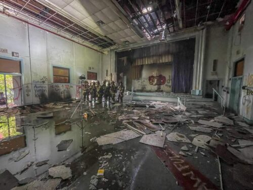 Abandoned Jacksonville school investigated after 'suspicious' fire had issues, residents say