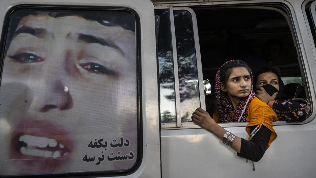 Afghan Girls Fear For Their Future As Taliban Gain Foothold, Education Minister Says : NPR